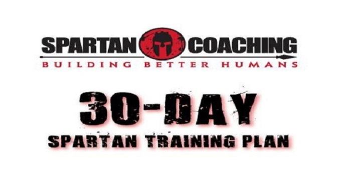 THE 30 DAY SPARTAN RACE TRAINING PLAN!